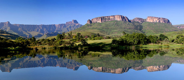 The Southern Region of UKlahlamba Drakensberg